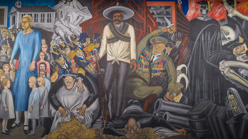 Orozco mural