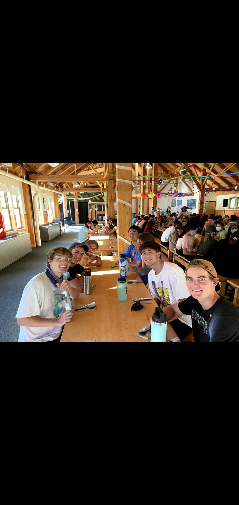 My trip sitting in the Ski-Lodge