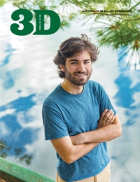An image of the cover of the October 2020 issue of 3D Magazine