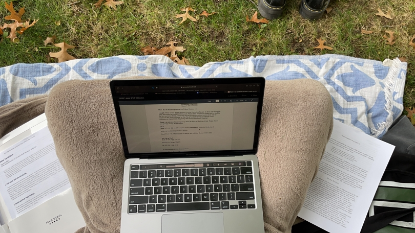 Working outside!