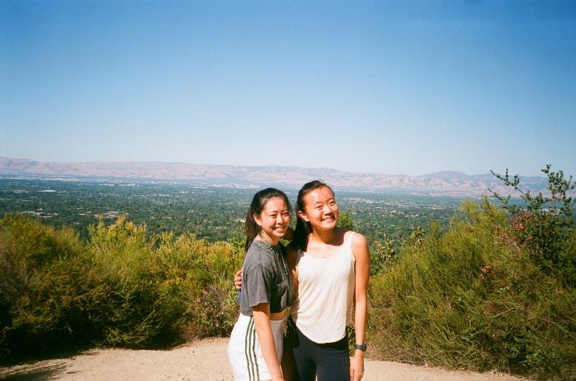 sydney wuu hike with elizabeth