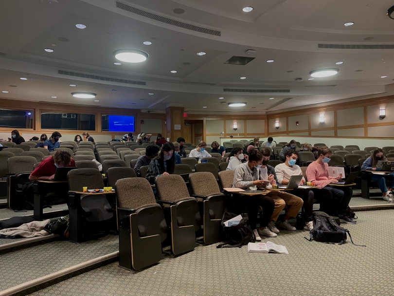 Moore Lecture Hall Classroom