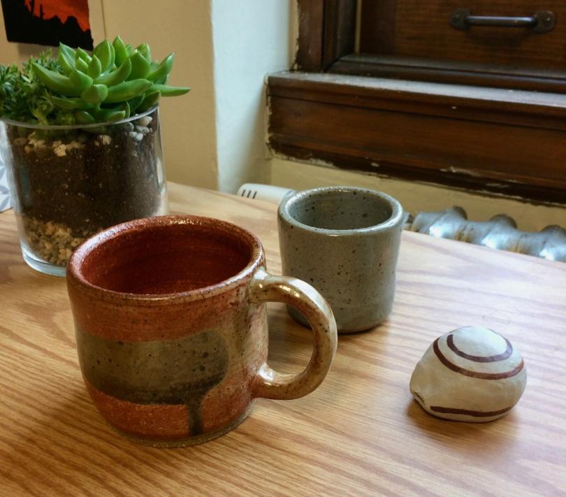 Items made in ceramics studio