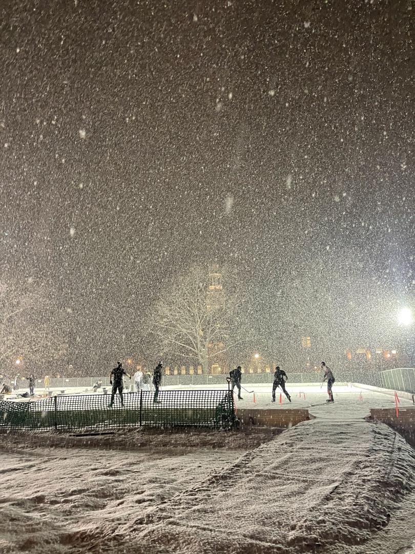 sydney wuu blizzard ice rink