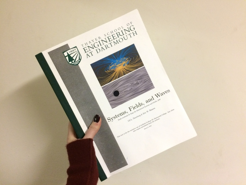 ENGS 23 textbook