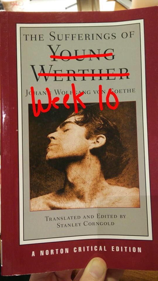 The Sufferings of Week 10