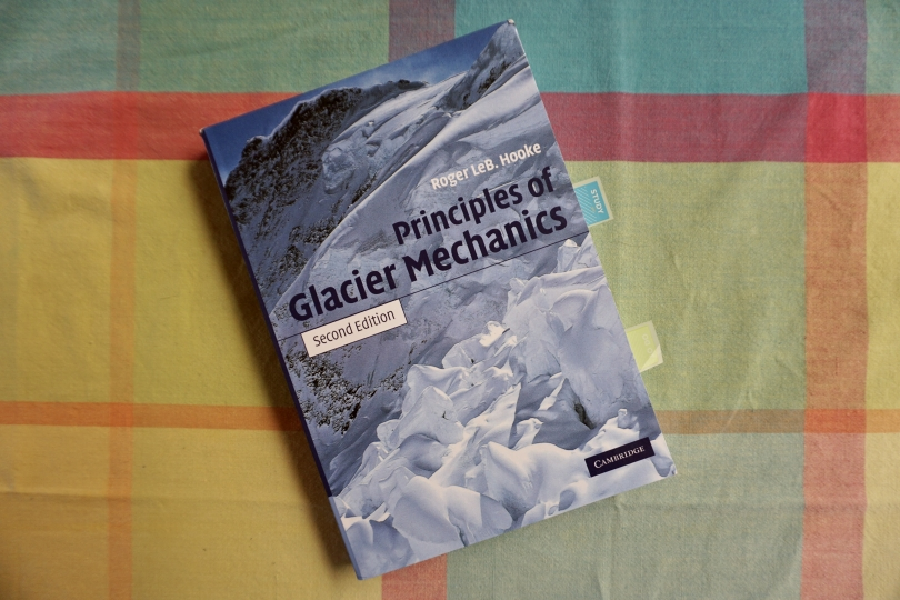 Glaciology Textbook