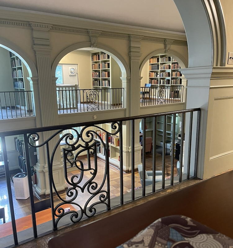 room in a library