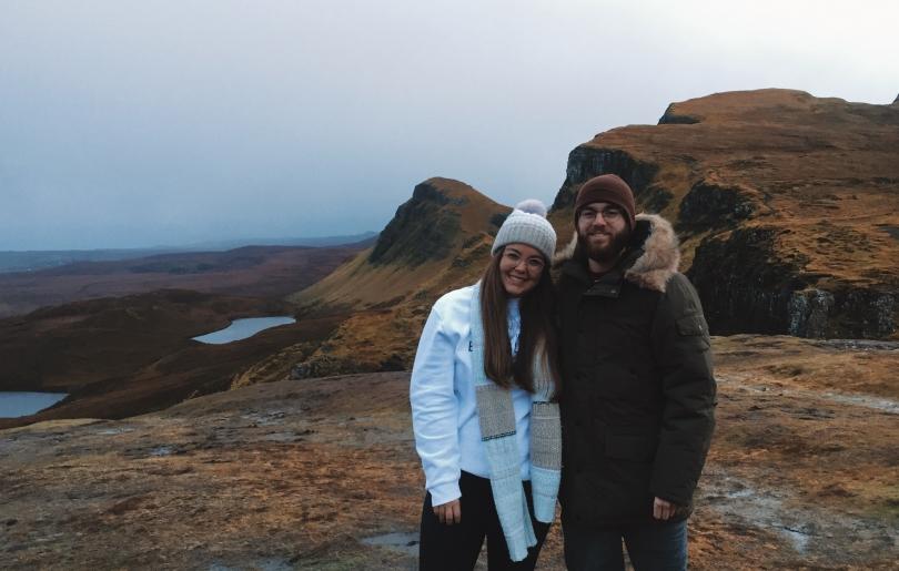 Dartmouth Siblings in Scotland!