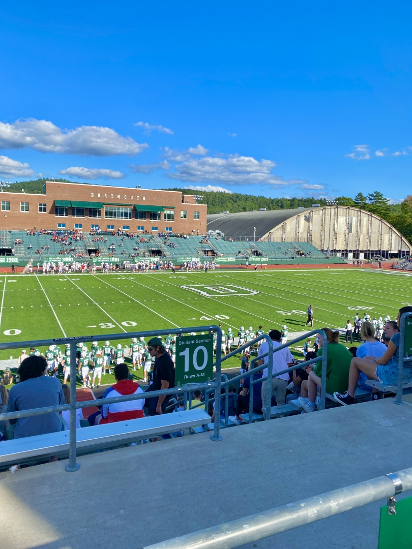 Dartmouth's football stadium