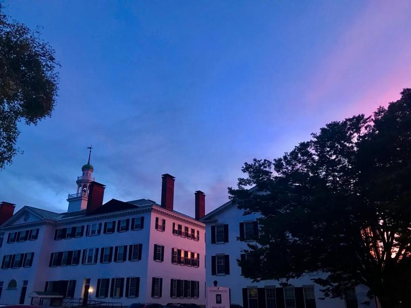 Dartmouth Hall Sunset