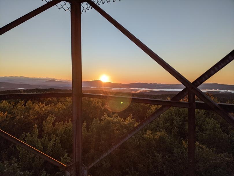 Sunrise at Gile