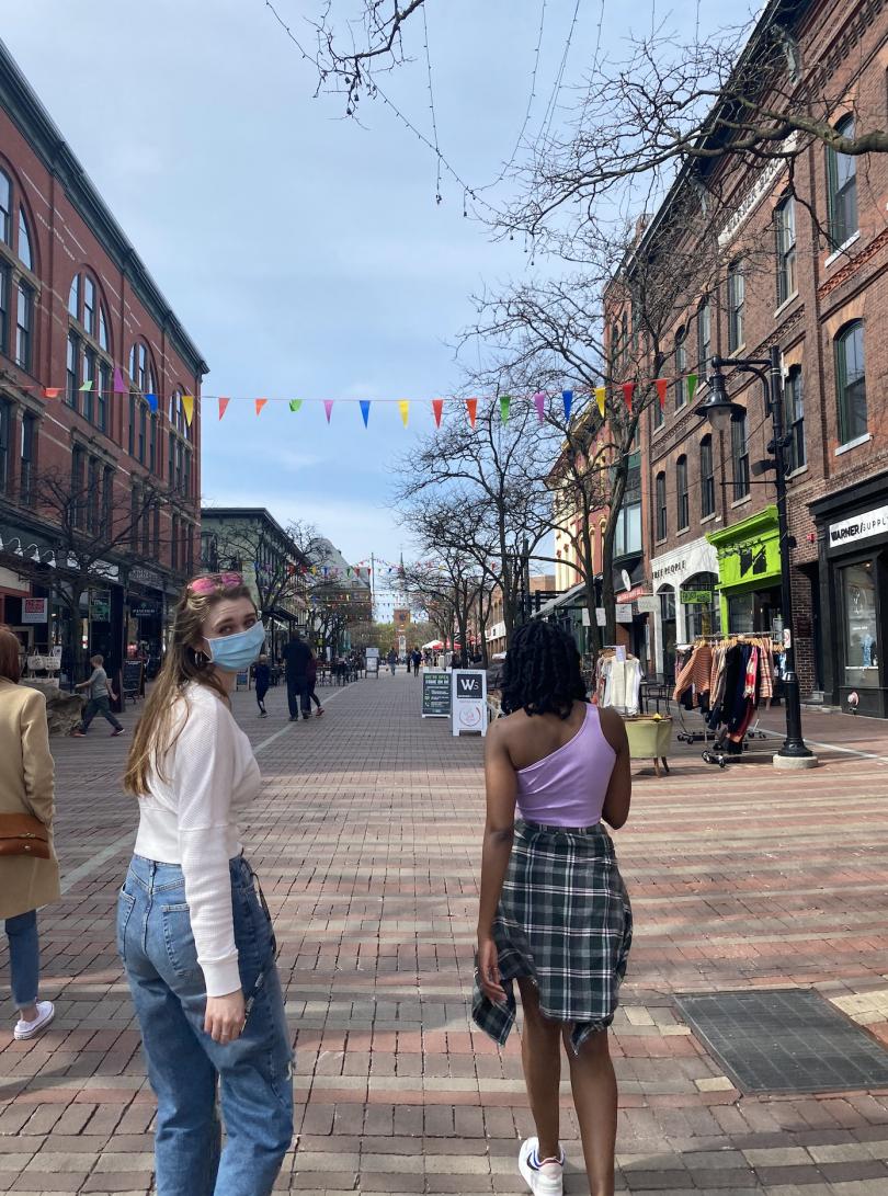 Spring in Burlington