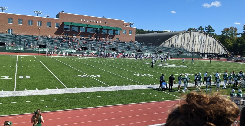 The first football game of the term.