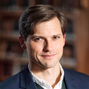 A photo of Dr. Matthew Ritger, Assistant Professor of English & Creative Writing