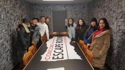 At the Escape Room Center in Concord