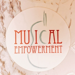 musical empowerment sticker