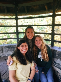 friends at Bartlett Tower
