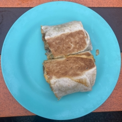 Burrito from Trailbreak, VT