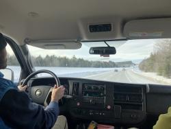 Van to Mt. Kearsarge