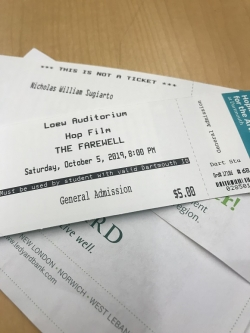 The Farewell Tickets