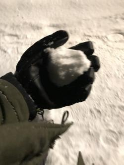 Nick's First Snowball
