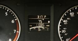 speedometer reading 1,108.5 miles