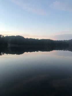 The Connecticut River in the Morning Is Breathtaking