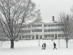 First Winter at Dartmouth
