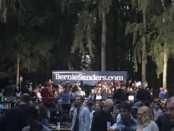 Bernie Sanders on Campus