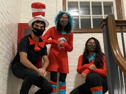 A Cat in the Hat, Thing 1, and Thing 2