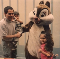 picture of toni fabian and family in 2003