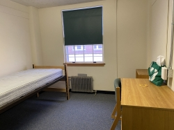 A before picture of my dorm!