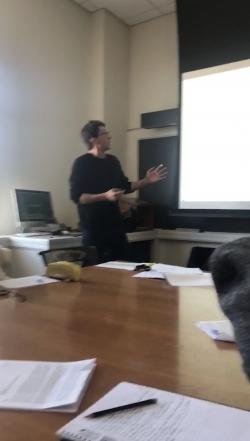my seminar class!