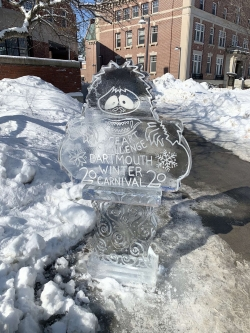 Ice Sculpture!