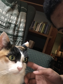 Me and Zoey the Cat!