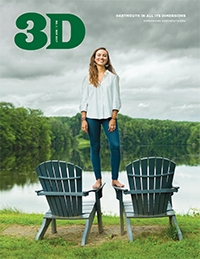 An image of the cover of the November 2017 3D Magazine