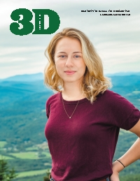 An image of the cover of the April 2019 3D Magazine