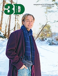 A photo of the cover of November 2019 3D Magazine