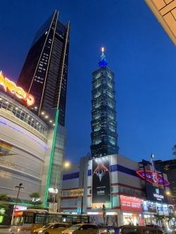 Taiwan at Night