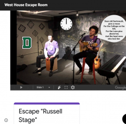 Example Room for our West House Escape Room!