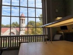 Studying at Rauner Library