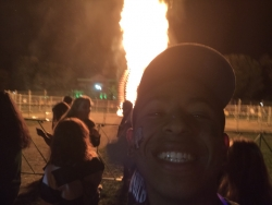 Go to activities on campus, like the Homecoming Bonfire!