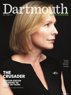 Dartmouth Alumni Magazine cover