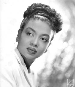Hazel Scott, piano virtuoso, and Hollywood trailblazer.