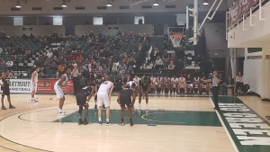 Dartmouth gets a freethrow