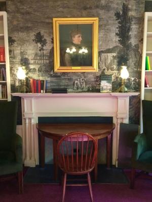 Poetry room in Sanborn