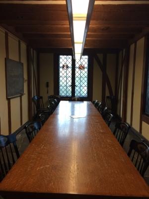 Tudor-style room