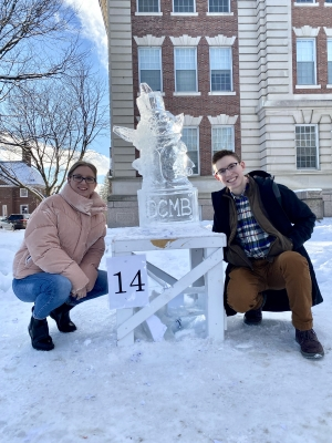 DCMB ice sculpture