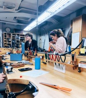 jewelry studio students
